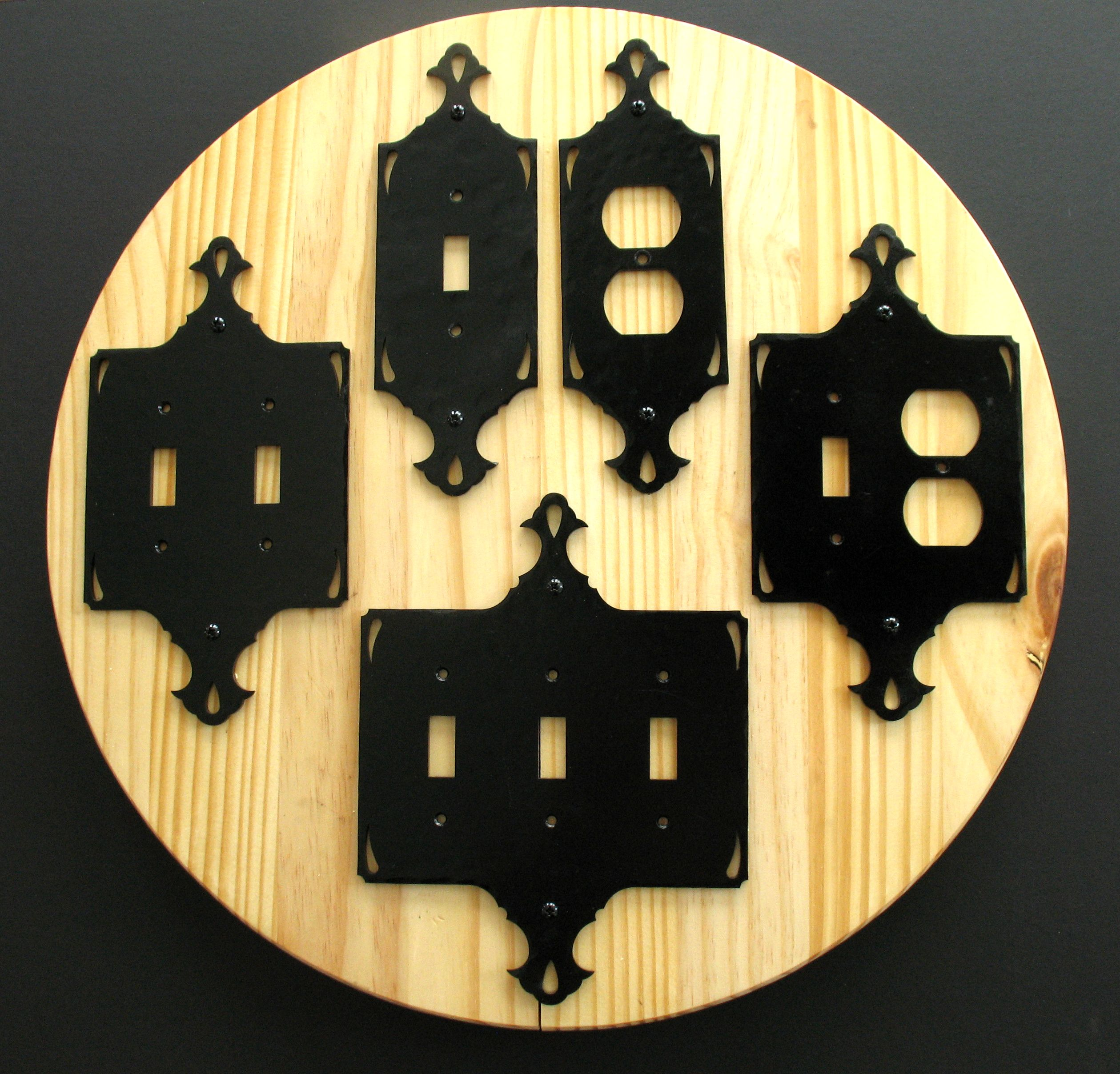decorative iron switch covers - Decorative Light Switch Covers
