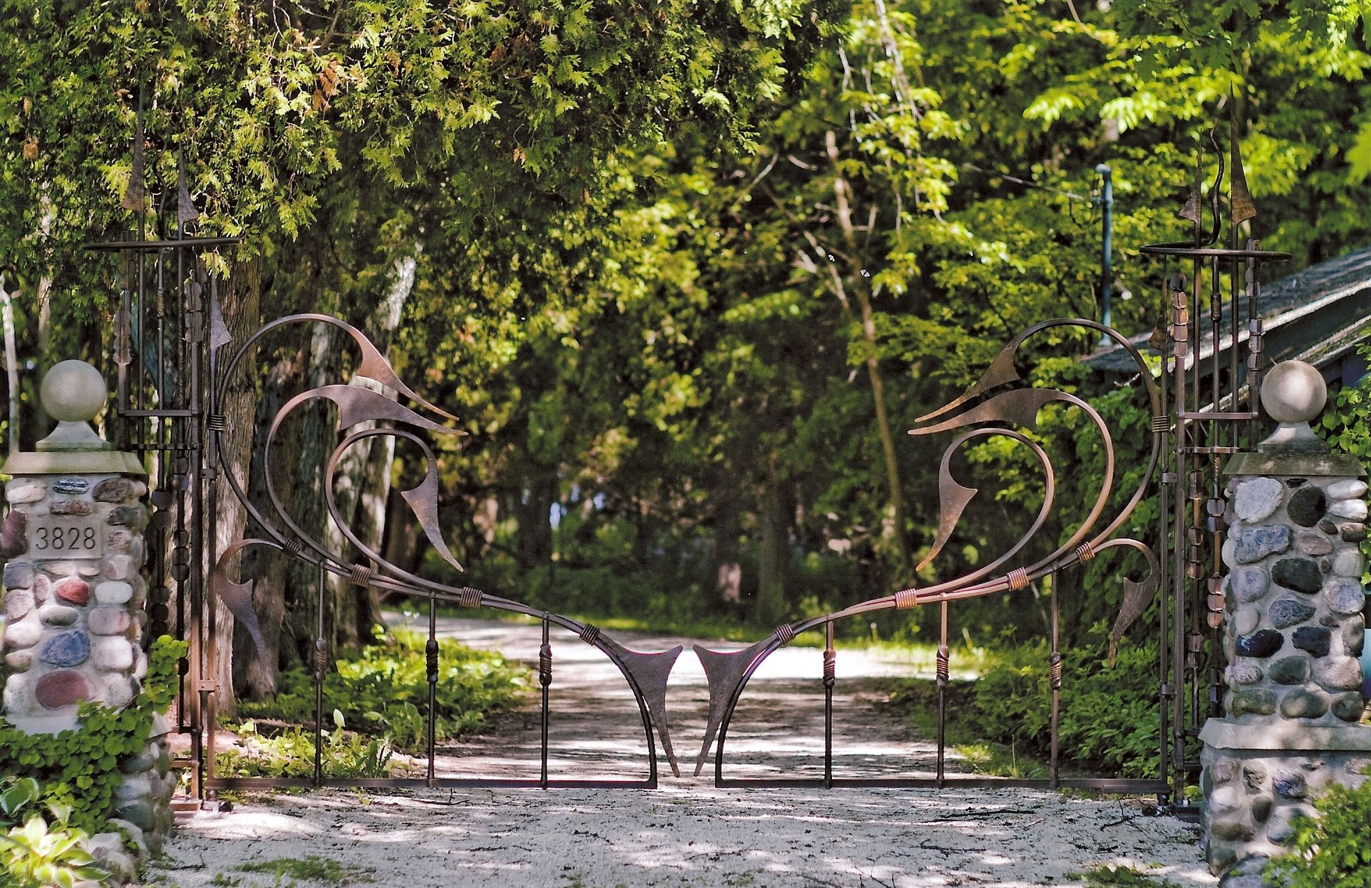Forged Gates And Archways By Dan Nauman 171 Bighorn Forge S