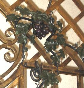 Detail of grape vine.