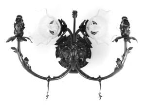 """Wall Sconce.  """"Pabst Mansion"""", Milwukee, WI."""