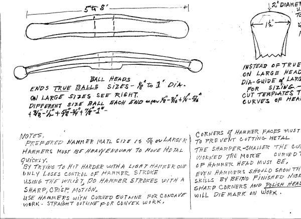 Hersom's Written Hammer Designs 4B