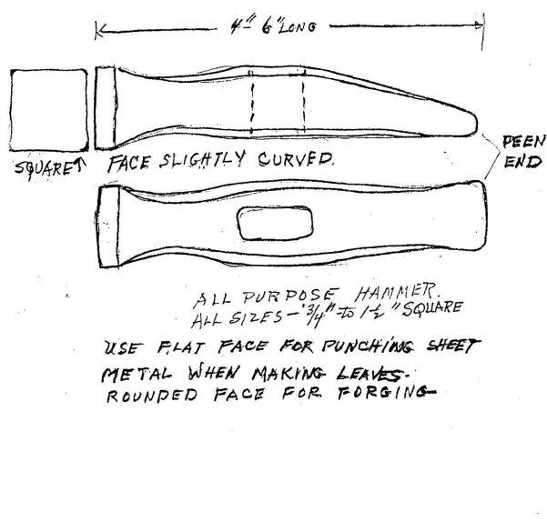 Hersom's Written Hammer Designs 5B
