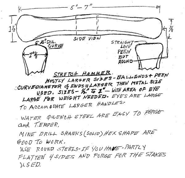Hersom's Written Hammer Designs 7A