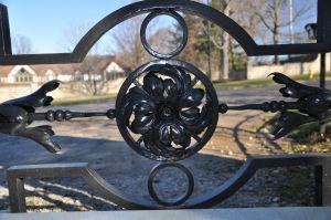 Gate detail- rosette